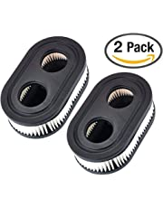 2Pack Lawn Mower Air Filter, for Briggs & Stratton 550E Thru 725EXI Series Engine, 798452 593260 798339 334404 4247 5432 5432K