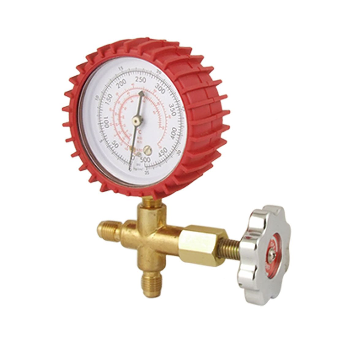 uxcell Air Conditioner Refrigeration Single Manifold Pressure Gauge Tool