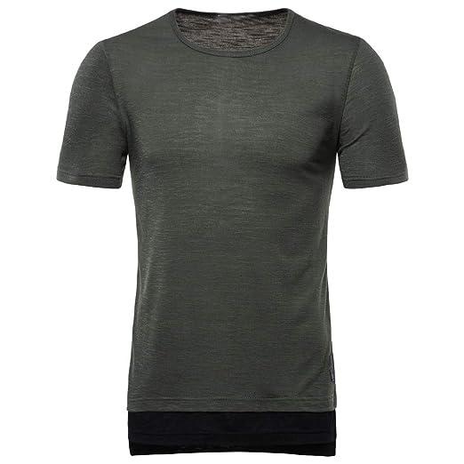 b1b5409b8d382 Amazon.com: Letdown_Men tops 2019 Mens Cotton Shirts Men's Fake Two ...