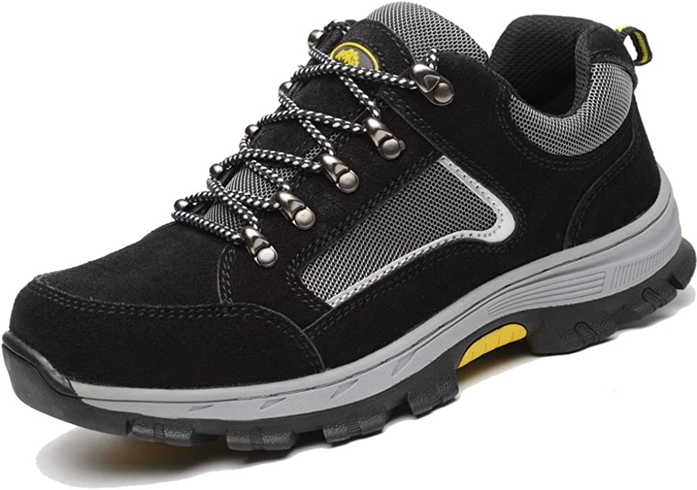 Mens Mesh Ultralight Safety Shoes Breathable Steel Toe Cap Work Trainers Size