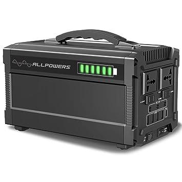 ALLPOWERS Generador Inverter 288Wh/ 78000mAh Generador Portátil ...