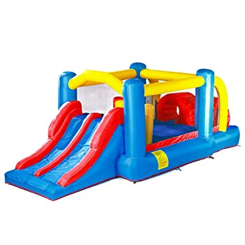 Amazon.com: Inflable Bouncers Castillo inflable interior y ...
