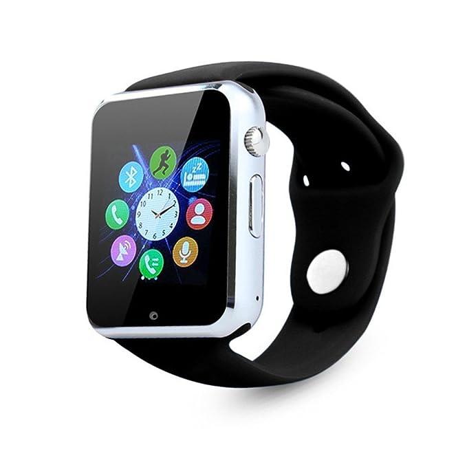 Reloj inteligente, ourspop Bluetooth SmartWatch desbloqueado reloj ...