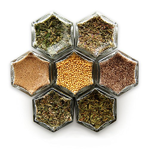 Gneiss Spice French Kit: Seven Magnetic Jars Filled with ...