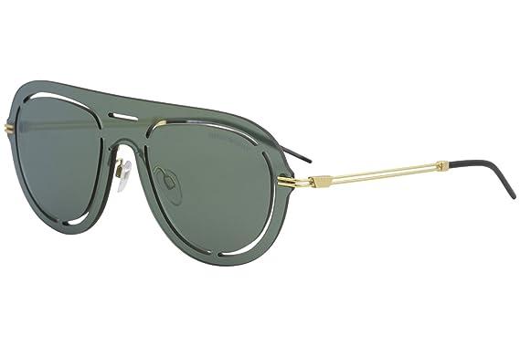 Emporio Armani Herren Sonnenbrille » EA2057«, grün, 30026R - grün/grün
