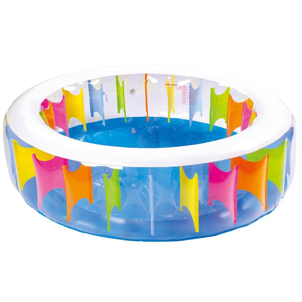Neue Baby-Pool/Aufblasbare transparenten kleinen Kindern das Schwimmen Fässer/Baby Baden Fass-C