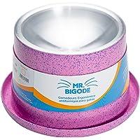 Comedouro Antiformiga para Gatos Mr. Bigode Rosa -250ml Nf Pet para Gatos, 250ml, Rosa
