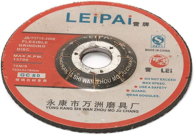 "4/"" Resin Cutting Disc Metal Cut Off Wheel for Stainless Steel 105x0.8x16mm 5Pcs"