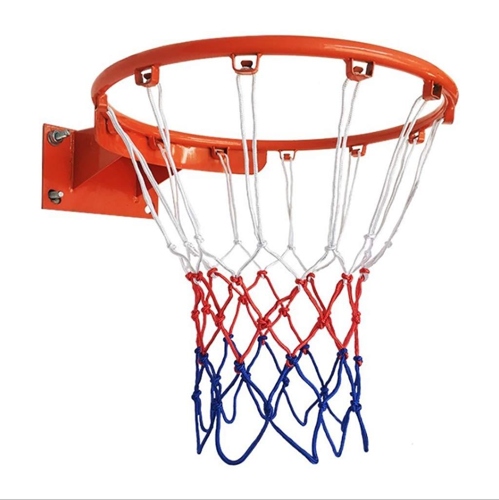 Wxsm Def Mini Appeso a Muro in Ferro battuto per Interni, canestro da Basket all'aperto da 35 cm, mensola Basket Standard Staccabile a Muro