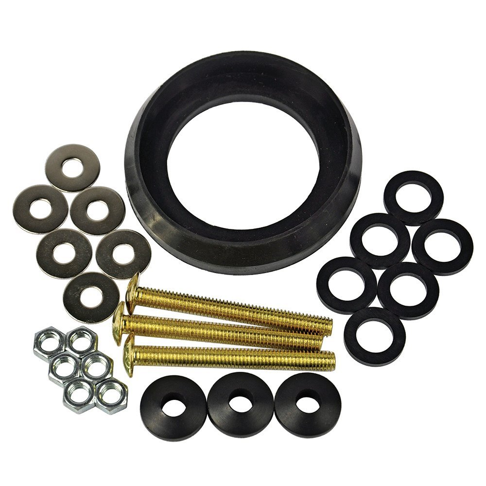 Amazon.com: Danco 88192 Tank to Bowl Toilet Repair Kit for Crane ...