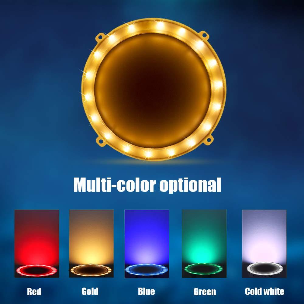 Blinngo Cornhole LED Board Lights, LED Cornhole Lights Meet Regulation Cornhole Boards(4 feet x 2 feet), Waterproof Cornhole LED Lights (Two Set)-Gold by Blinngo