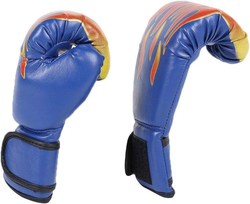 Domybest Gants de Boxe Enfants Gants en Cuir PU Respirant MMA Muay Thai Karat/é Accessoire Boxe Gants de Combat de Boxe Anti-Choc pour lentra/înement Boxe