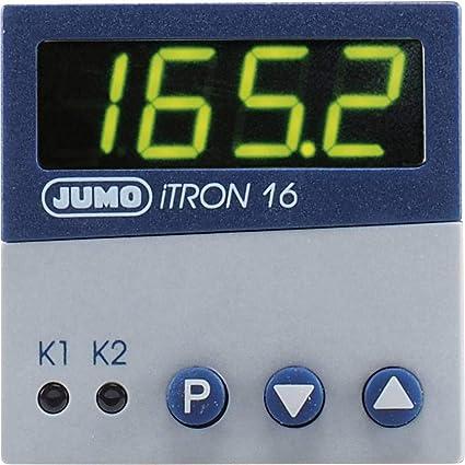 Jumo iTRON 16 PID - Regulador de temperatura (Pt100, Pt1000, KTY11 ...