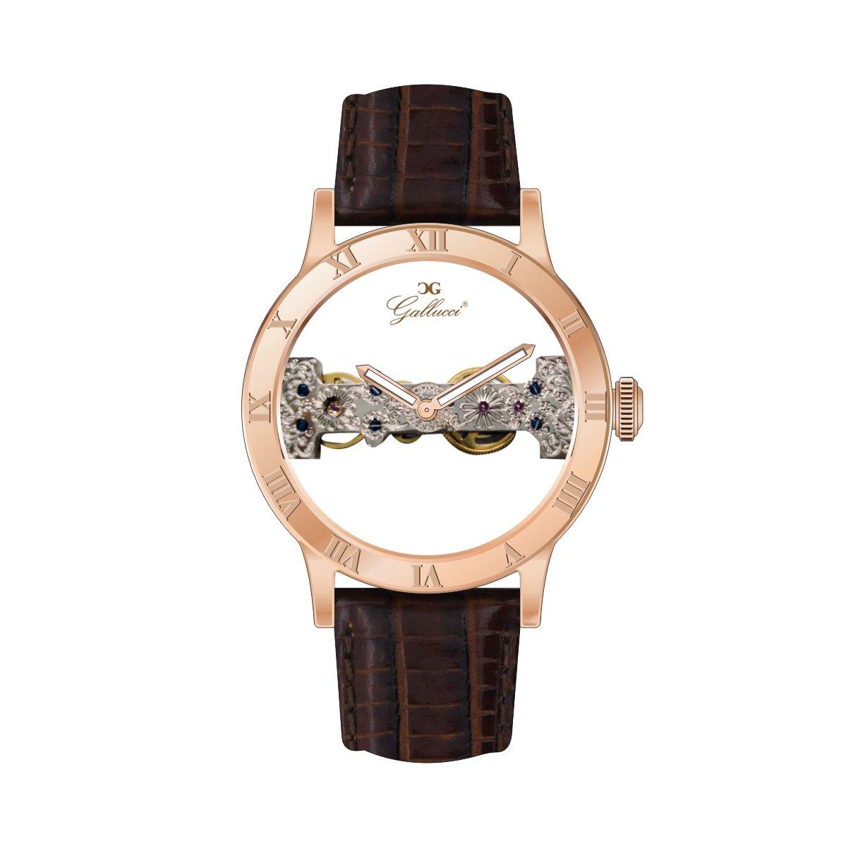 Gallucci ユニセッスファッションス手巻き機械時計 B017091GI8