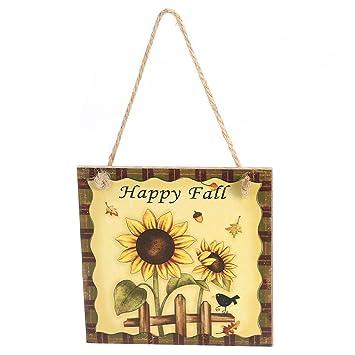 Amazon.com: BESTOYARD Thanksgiving Door Decorations Happy Fall ...