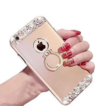 coque iphone 6 avec anneau paillette