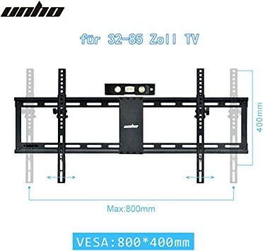 unho® pared televisor TV inclinable Soporte universal fernsehh Projector plano Soporte Soporte De Pared Para