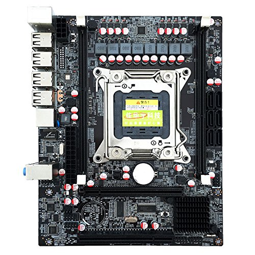 ETbotu X79 LGA2011 Pin All Solid Capacitors Support E5-2670 2650 Eight-core CPU Computer Motherboards by ETbotu