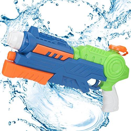 Young Choi's Kids Water Soaker Gun Toys, 2 Pack Pool Toy Water Gun Large Size...