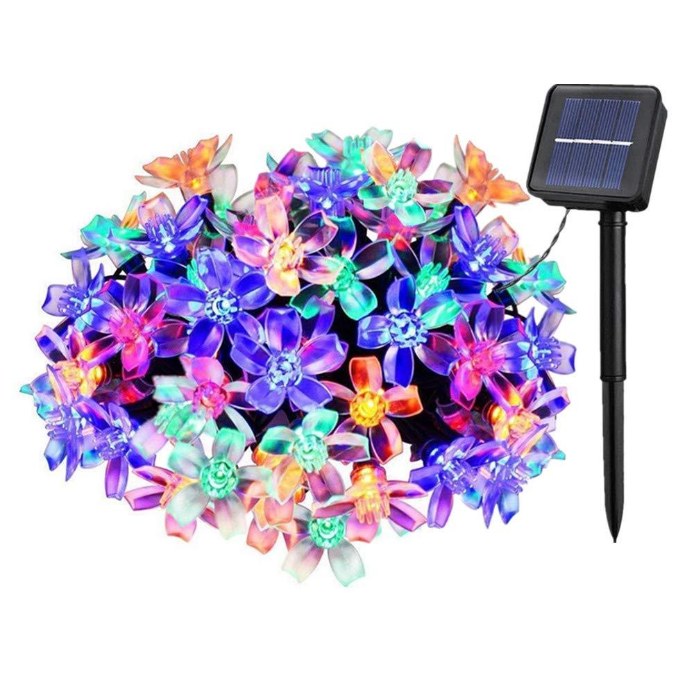 Solarbetriebene Garten Lichterkette 6m mit 30 Kristallkugel LED Außenlichterkette Wasserdicht Partylichterkette für Hochzeit, Festspiele, Zaun, Sonnenschirm, Terrasse, Haus und Außen Deko (Warmweiß) Flexble