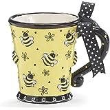 凸起设计 283.50 毫升啤*杯(2 件套) 黄色 10 盎司 FBA_123175