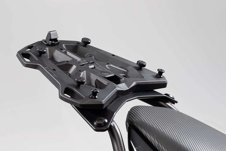 SW Motech GPT 00.152.54400/B Street Rack Adaptor Plate for Givi/Kappa Monokey Topcase –  Black SW-MOTECH GPT.00.152.54400/B