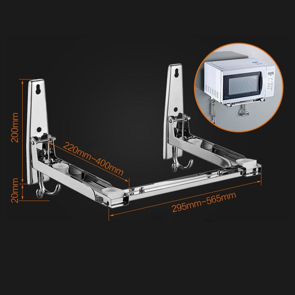 40 kg Stile2-1 Supporto per forno a microonde da parete