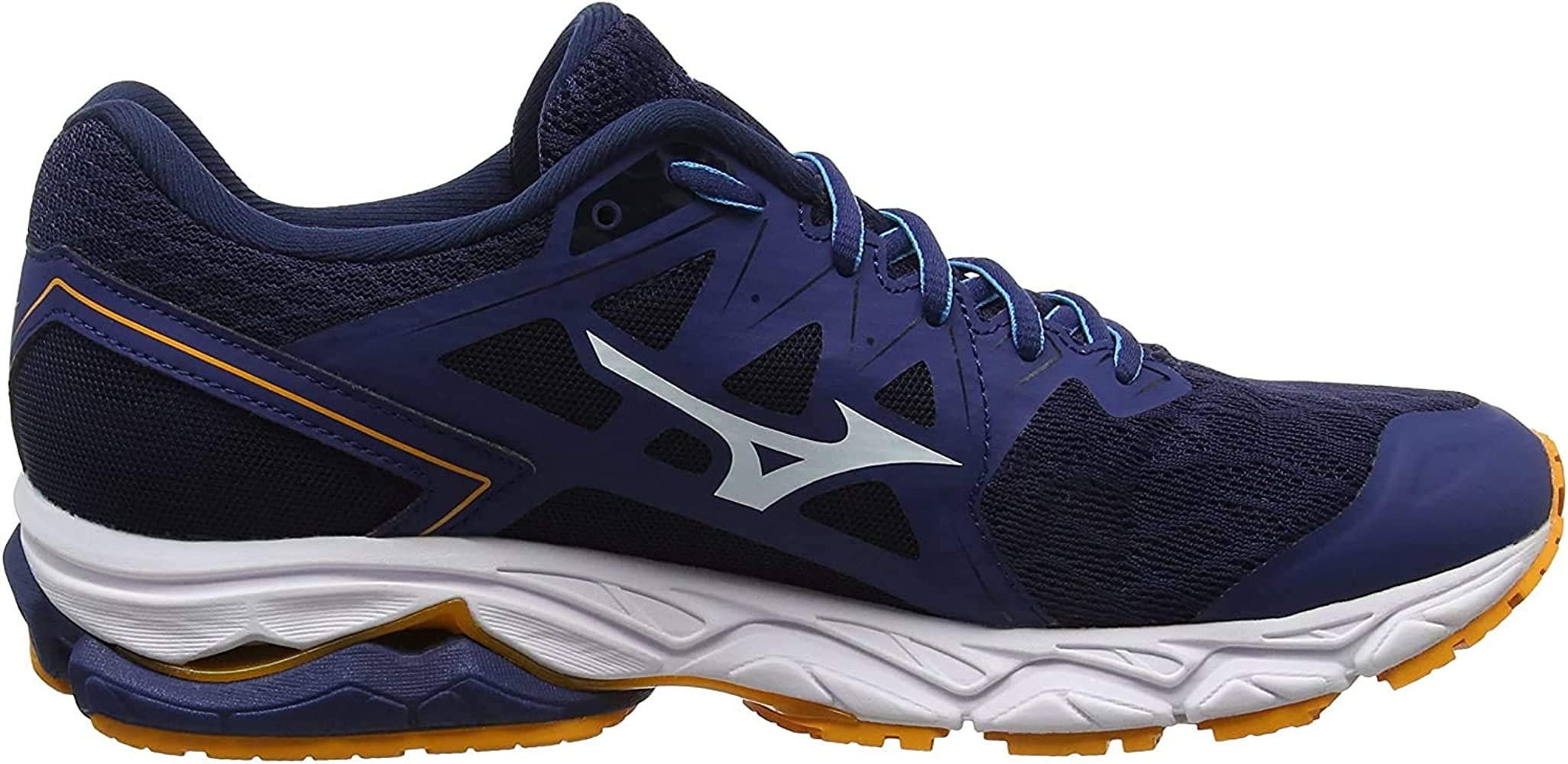 Mizuno Wave Ultima 10, Zapatillas de Running para Hombre, Azul (Estate Blue/White/Flame Orange 01), 39 EU: Amazon.es: Zapatos y complementos