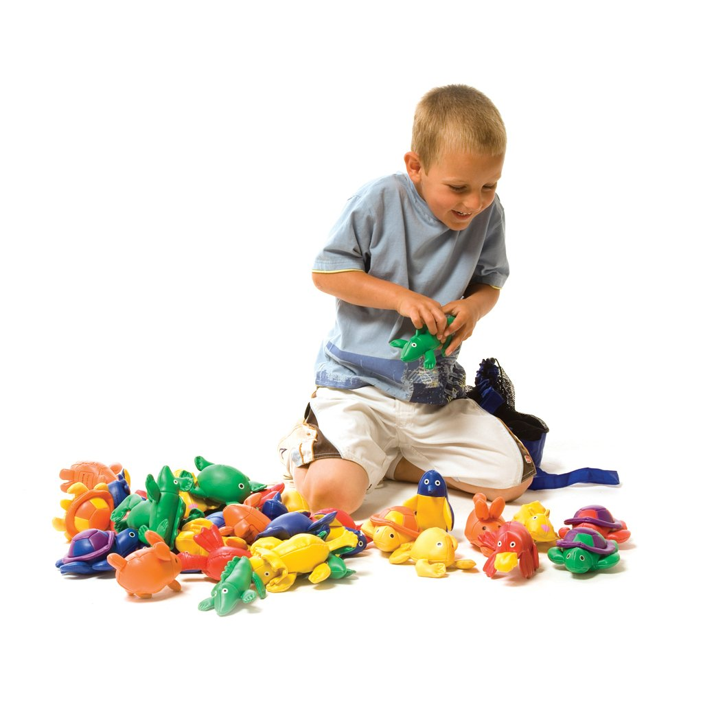 First-Play Beanbag Animal Menagerie Game, Multi-Colour by First-Play (Image #1)