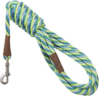 product image for Mendota Pet Long Snap Leash - Dog Training Lead - Made in The USA - Seafoam, 3/8 in x 15 ft
