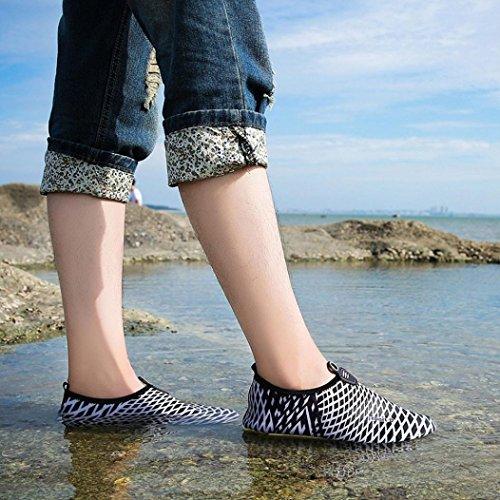 Zapatos De Deporte Acuático, Inkach Unisex Zapatos De Agua De Secado Rápido Calcetines De Aqua Skin Para Hombres Mujeres Swim Beach Surf Zapatos De Yoga Surf