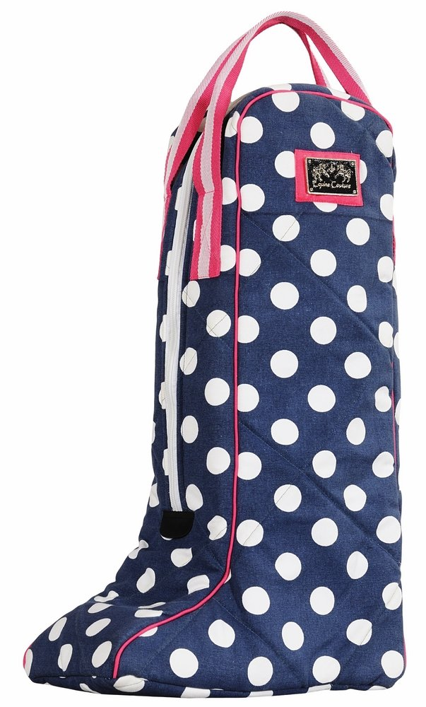 Equine Couture Emma Equestrian Boot Bag, Hot Pink, Standard