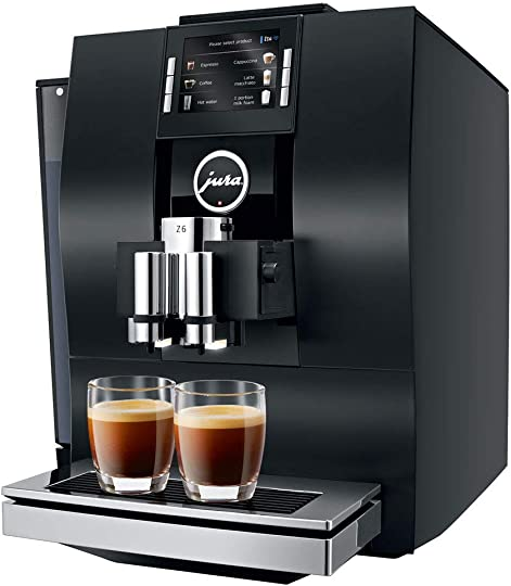 Jura 15182 Automatic Coffee Machine Z6, Aluminum Black Renewed