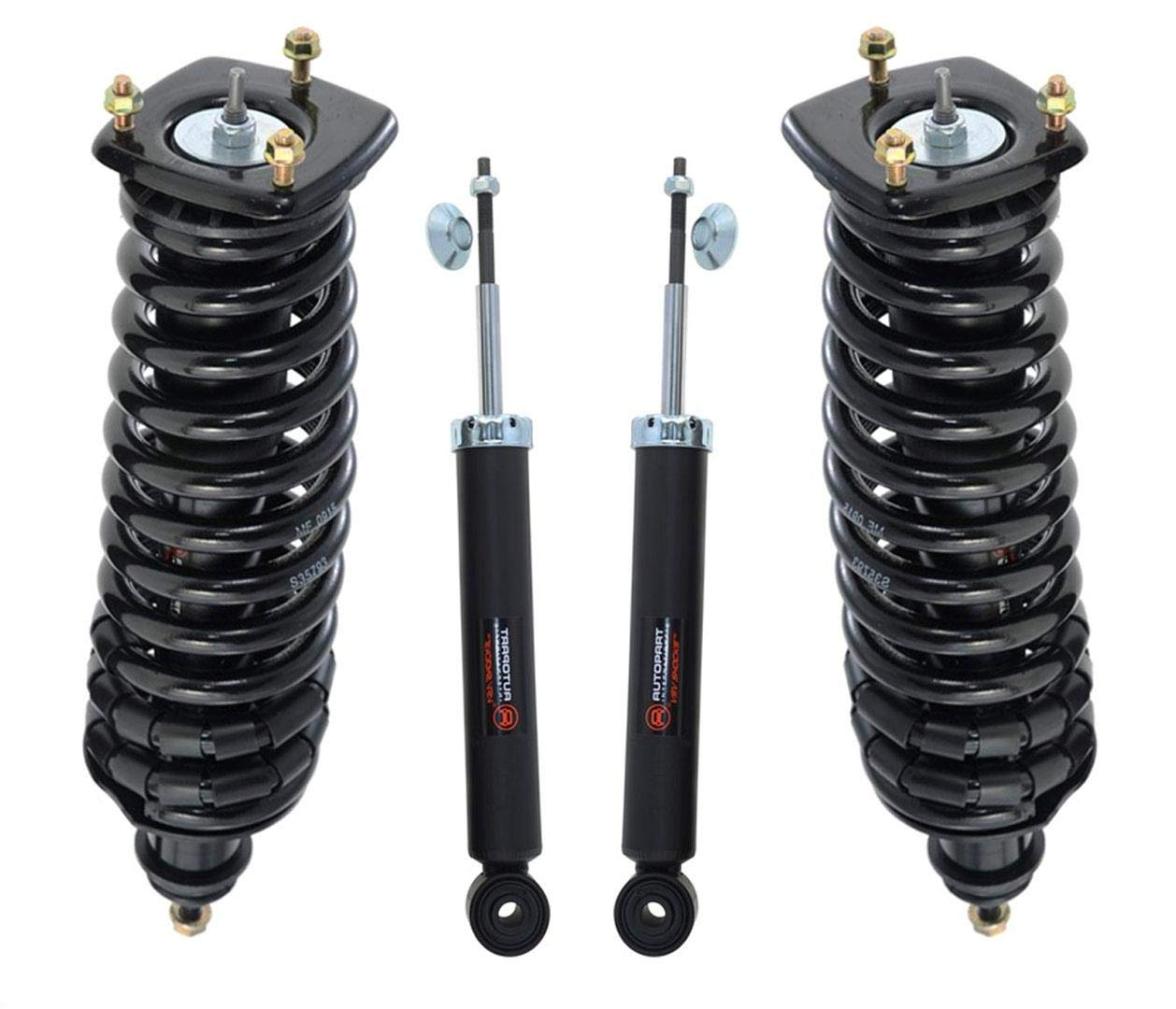 Fits ML320 ML350 ML430 ML500 ML55 Without Spare Tire Rr Loaded Spring Struts With Front Shocks