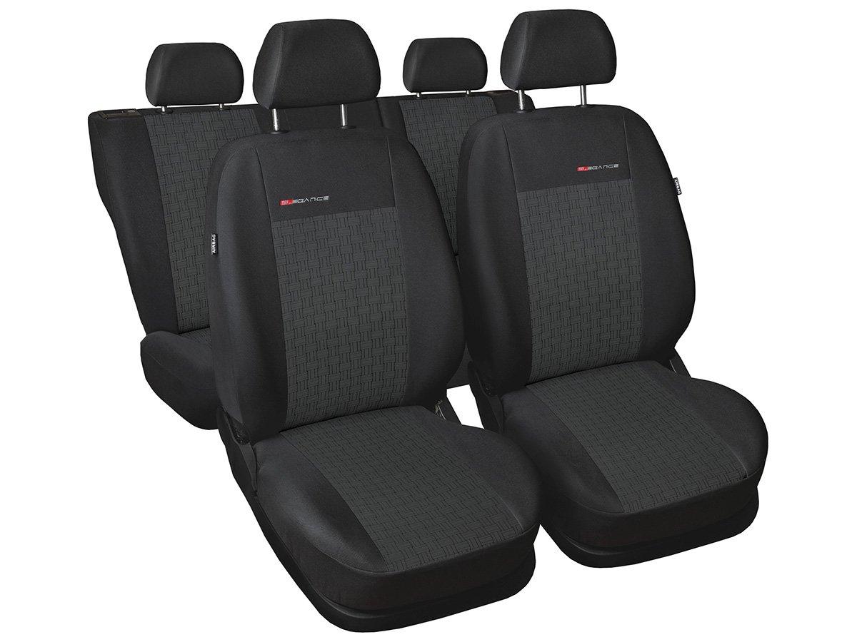 Fundas de asiento a medida Transit funda para asiento terciopelo y tela ajuste perfecto decoraci/ón para el coche fundas protectoras funda
