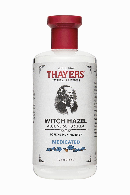 Thayers Witch Hazel Aloe Vera Formula, Medicated 12 oz