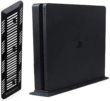 Soporte Vertical para PS4 Slim Console, Negro: Amazon.es: Electrónica