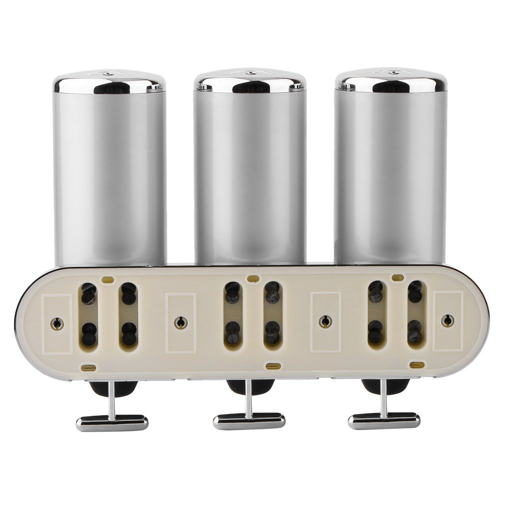 d3767713c55c Homgrace Bathroom Shower Liquid Soap Shampoo Gel Dispenser Pump 3 ...