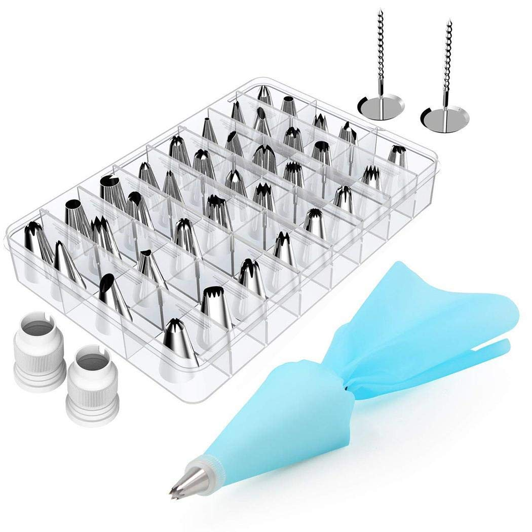 42/pcs Mounting Pattern Nozzle Set Cream Cake Making Tool Kitchen Tool