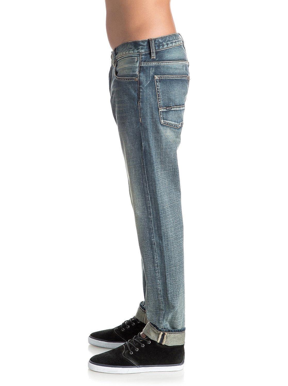 Quiksilver Mens Revolver Vintage Cracked 32 Denim Pant