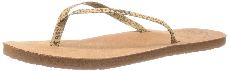 Amazon.com | Reef Women's Leather Uptown Luxe Sandal, Leopard, 10 M US |  Flip-Flops