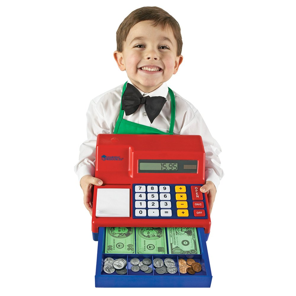 Learning Resources Pretend & Play Calculator Cash Register, 73 Pieces by Learning Resources (Image #3)