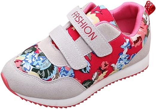 YanHoo Zapatos para niños Zapatillas de Deporte Casuales con ...