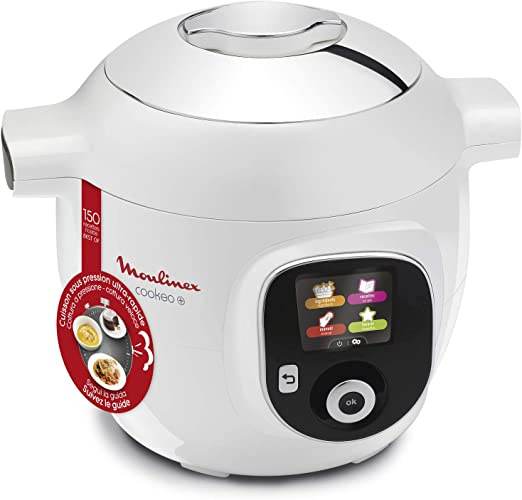 Moulinex - Olla inteligente de alta presión, 6 L, 150 recetas, 6 ...