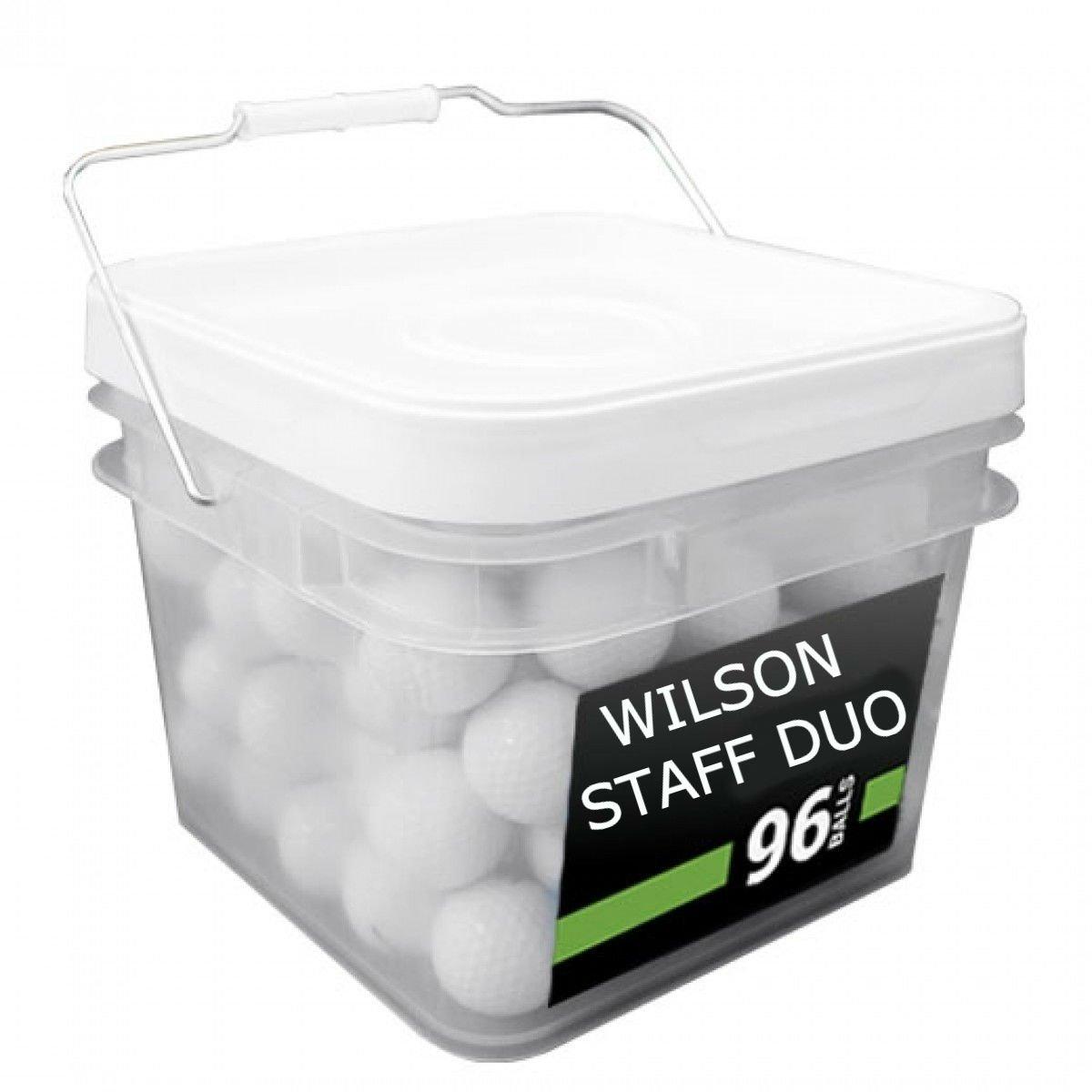 ウィルソンDuo Good品質ゴルフボール( 96パック   B077Q6BTFK