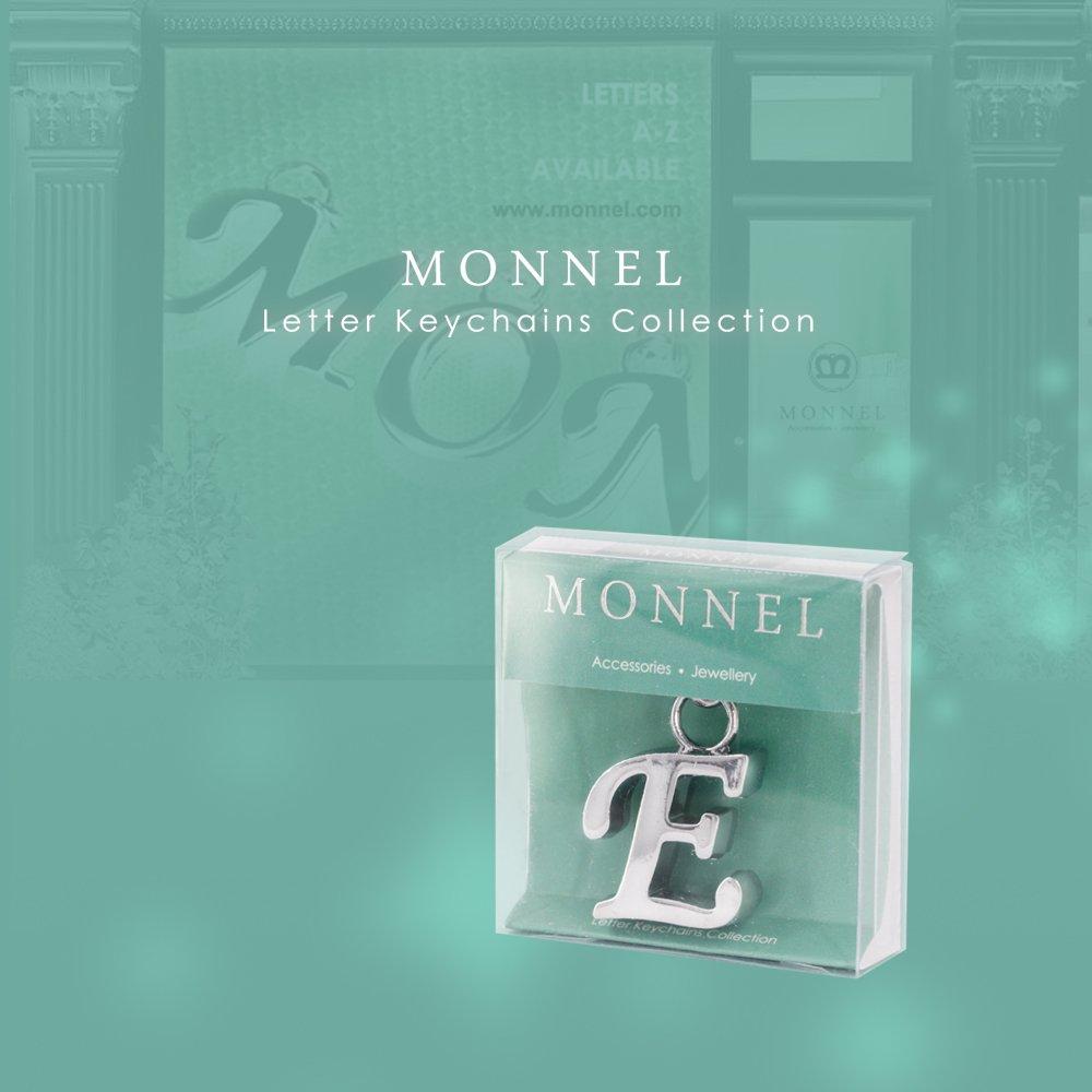Fashion Bling Bling Letter M Key Ring Creative Packaging ...
