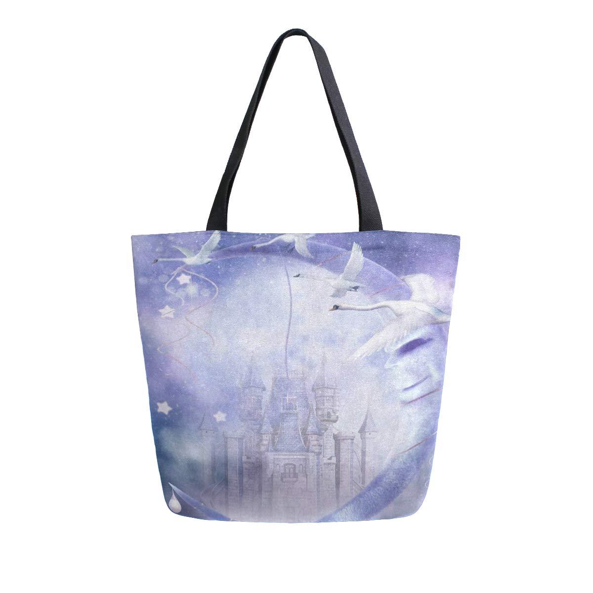 Canvas Tote Bag Fantasy...