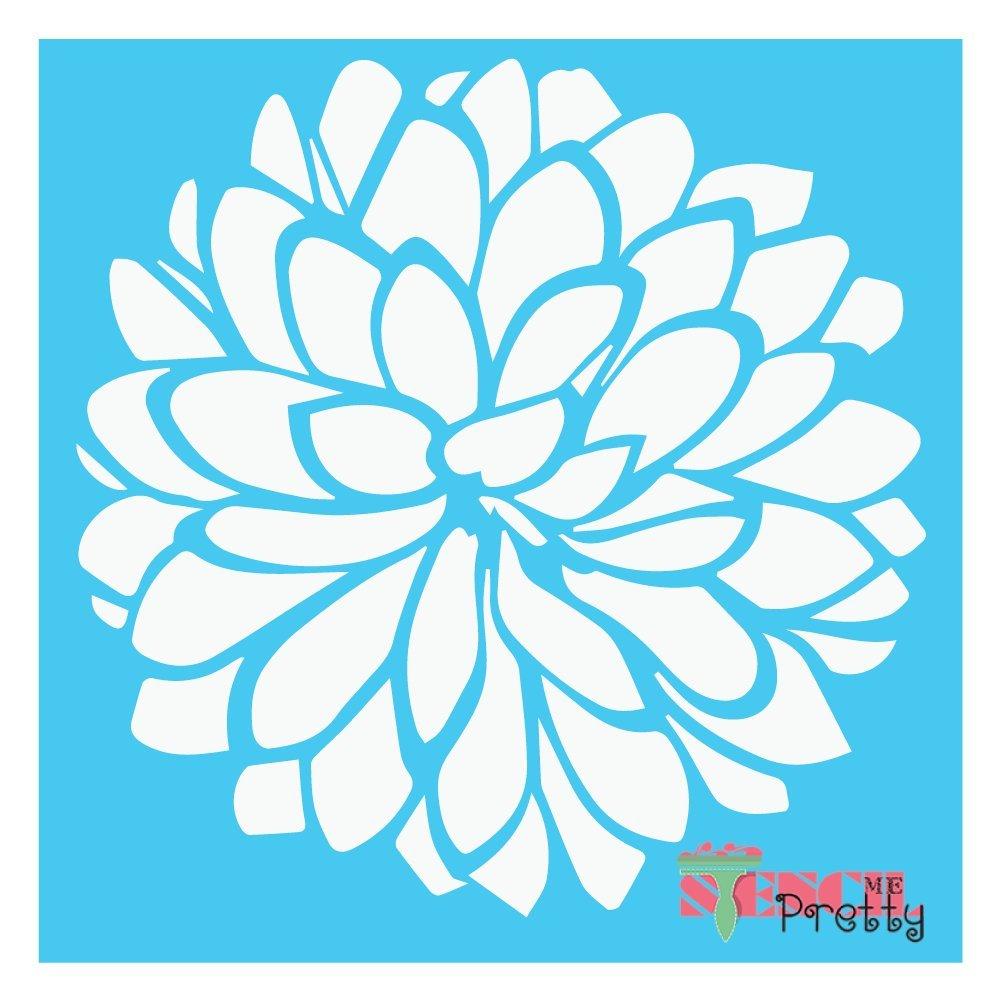 Spring Flower Stencil DIY Crafting -Multipack (S,M,L)