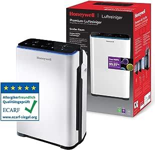 Purificador de aire Honeywell Premium (filtro True HEPA, sensor de ...