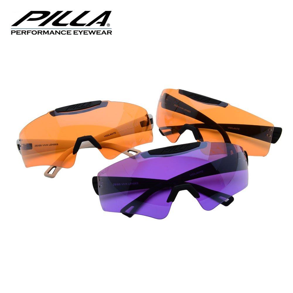 Pilla vigilante 94hc amarillo//verde lente de gafas marco negro